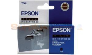EPSON STYLUS C62 INK CARTRIDGE BLACK (C13T040140)