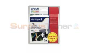 EPSON STYLUS PHOTO 870 INK CTG BLACK/COLOR (T007401BA)