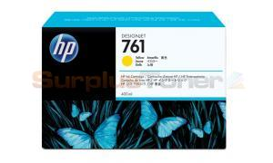 HP NO. 761 INK CARTRIDGE YELLOW 400ML (CM992A)