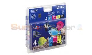 BROTHER DCP130C MFC240C INK VALUE PACK (LC-1000VALBP)