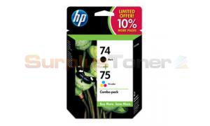 HP NO.74 75 INK BLACK/COLOR COMBO PACK (SD419AN)
