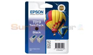EPSON STYLUS COLOR 880 INK BLACK TWIN PACK (C13T01940210)