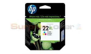 HP NO. 22XL INKJET PRINT CARTRIDGE TRI-COLOUR (C9352CE)