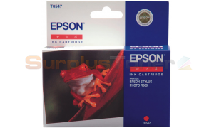 EPSON STYLUS PHOTO R800 INK CTG RED (C13T054740)