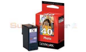 LEXMARK NO. 40 PRINT CARTRIDGE PHOTO (18Y0340E)