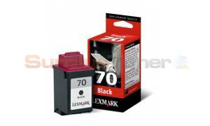 LEXMARK NO. 70 INK CARTRIDGE BLACK (12AX970E)