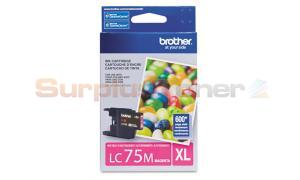 BROTHER MFC-J6910DW INK CARTRIDGE MAGENTA HY (LC-75M)