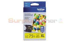 BROTHER MFC-J6910DW INK CARTRIDGE YELLOW HY (LC-75Y)