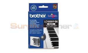 BROTHER MFC-5460CN INK CARTRIDGE BLACK HY (LC-1000HY-BK)