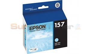 EPSON STYLUS PHOTO R3000 INK CARTRIDGE LIGHT CYAN (T157520)