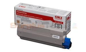 OKI C5650 TONER CARTRIDGE BLACK (43865708)