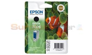 EPSON STYLUS PHOTO 810 INK CARTRIDGE BLACK (C13T02640110)