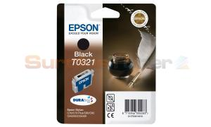 EPSON STYLUS C70 INK CARTRIDGE BLACK (C13T03214010)