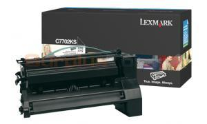 LEXMARK C770 PRINT CART BLACK 6K (C7702KS)