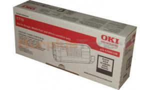 OKI C710 TONER CARTRIDGE BLACK (43866108)