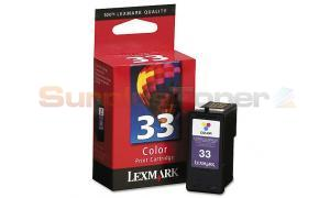 LEXMARK Z800 NO. 33 PRINT CART COLOR (18C0033)