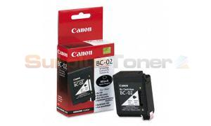 CANON BC-02 INK CARTRIDGE BLACK (0881A002[AA])
