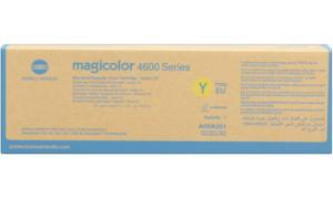 KONICA MINOLTA MAGICOLOR 4600 TONER CARTRIDGE YELLOW (TYPE EU) (A0DK251)