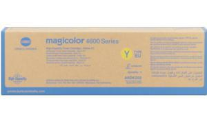 KONICA MINOLTA MAGICOLOR 4600 TONER CARTRIDGE YELLOW HY (TYPE EU) (A0DK252)