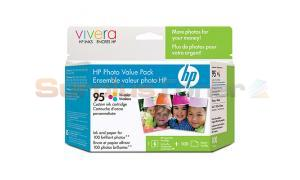 HP NO 95 INK CART CMY PHOTO VALUE PACK (Q7932AC)