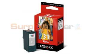 LEXMARK 31 PHOTO INK CARTRIDGE COLOUR (18C0031A)