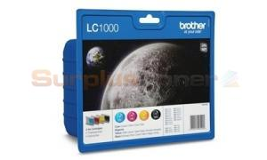 BROTHER DCP130C MFC240C INK VALUE PACK (LC-1000VALBPDR)