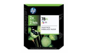 HP NO 78XL INKJET PRINT CARTRIDGE TRI-COLOR (C6646BN)