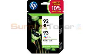 HP NO 92 93 INK CTG BLACK AND TRI-COLOR COMBO-PK (SD420AN)