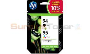 HP NO 94 95 INK CARTRIDGE CMYK COMBO-PK (SD421AN)