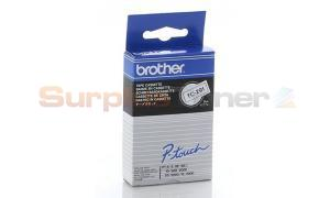 BROTHER PT-8 BLACK ON WHITE TAPE CASSETTE 9MM (TC-291)