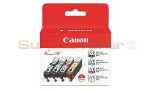 CANON CLI-221 INK CART CMYK (2946B004)