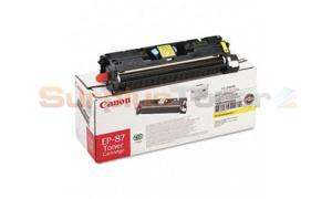 CANON EP-87 TONER CARTRIDGE YELLOW (7430A003)