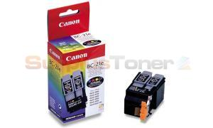 CANON BC-21E INK CARTRIDGE BLACK AND COLOR (0899A314)