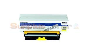 OKI C110 TONER CARTRIDGE YELLOW (44250709)