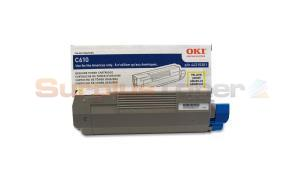 OKI C610 TONER CARTRIDGE YELLOW (44315301)