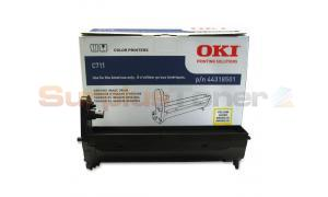 OKI C711 IMAGE DRUM YELLOW (44318501)
