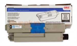 OKI C530DN TONER CARTRIDGE BLACK (44469801)