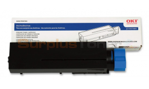 OKI B431D TONER CARTRIDGE BLACK 10K (44574901)
