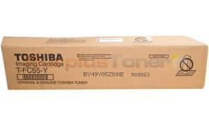 TOSHIBA E-STUDIO 5520C TONER CARTRIDGE YELLOW (T-FC55-Y)
