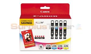 CANON PIXMA IX6520 INK BLACK/COLOR COMBO PACK (4546B007)