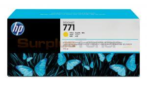 HP NO 771 DESIGNJET INK CTG YELLOW (CE040A)