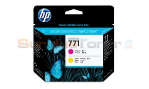 HP NO 771 DESIGNJET PRINTHEAD MAGENTA/YELLOW (CE018A)