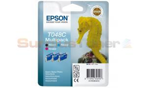 EPSON STYLUS PHOTO RX500 TRI PACK (C13T048C4010)