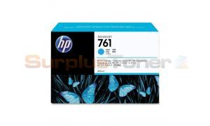 HP NO 761 INK CARTRIDGE CYAN 400ML (CM994A)