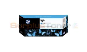 HP NO 772 INK CARTRIDGE CYAN 300ML (CN636A)