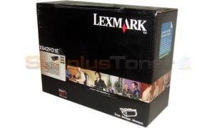 LEXMARK X642 PRINT CARTRIDGE BLACK HY (X642H31E)
