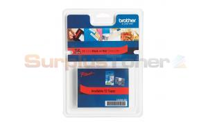BROTHER TZ TAPE BLACK ON RED 12MM X 4M (TZ-431S)