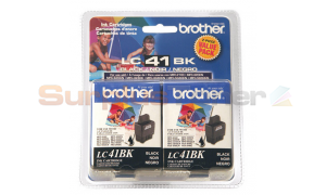 BROTHER MFC-5440CN INK CARTRIDGE BLACK (LC-412PKS)