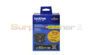 BROTHER MFC-6490CW INKJET CART BLACK HY (LC65-2PKS)