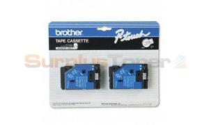BROTHER P-TOUCH TAPE BLACK/WHITE (1/2 X 25) (TC-20)